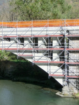 Capo di Ponte rail Bridge