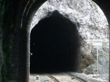 Colombano Tunnel northern portal