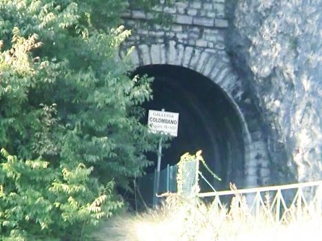 Colombano railways Tunnel southern portal