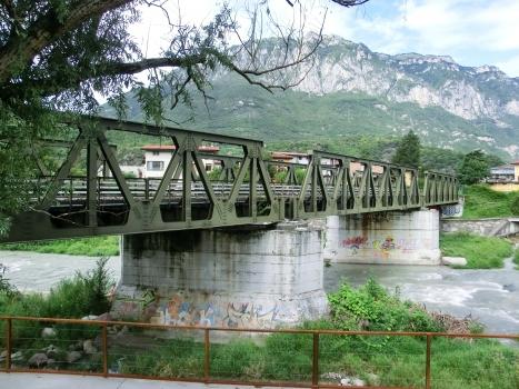 Darfo Bridge across Oglio river