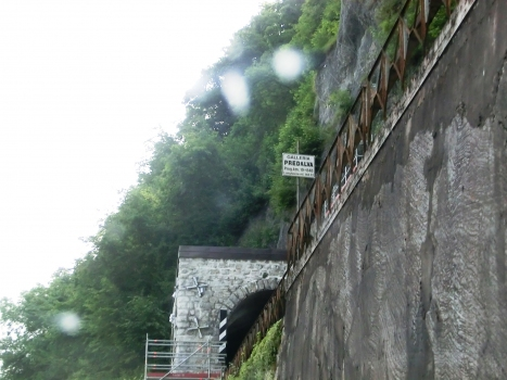 Predalva Tunnel southern portal