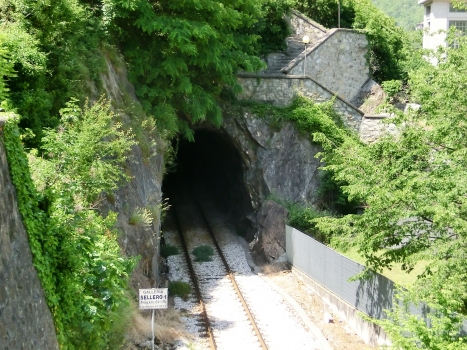 Sellero 1 Tunnel southern portal