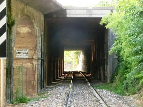 SS510 artificial Tunnel southern portal