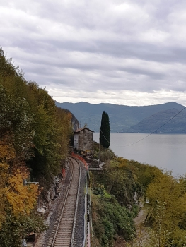 Brescia-Edolo Railroad Line between Toline and Vello