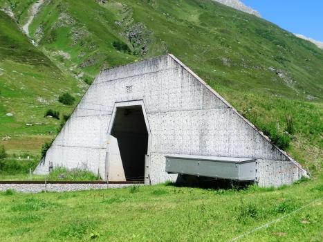 Realp Tunnel western portal