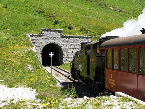 Furka Tunnel western portal