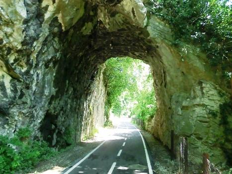 Ghisleno Tunnel northern portal