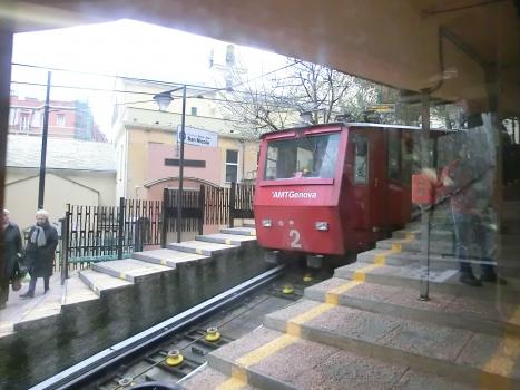 Funicolare Zecca-Righi, San Nicola station