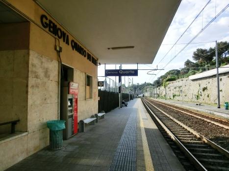 Bahnhof Genova Quarto dei Mille