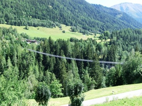Goms suspension Footbridge