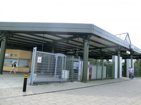 Metrobahnhof Heysel