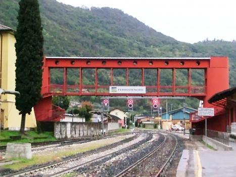 Iseo Station Covered Footbridge