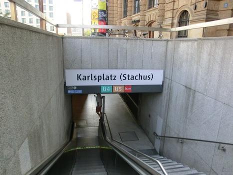 Station de métro Karlsplatz