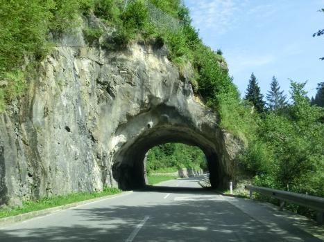 Tunnel Felsdurchbruch