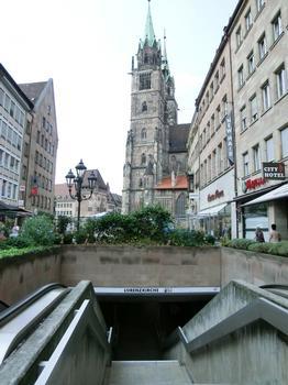 U-Bahnhof Lorenzkirche