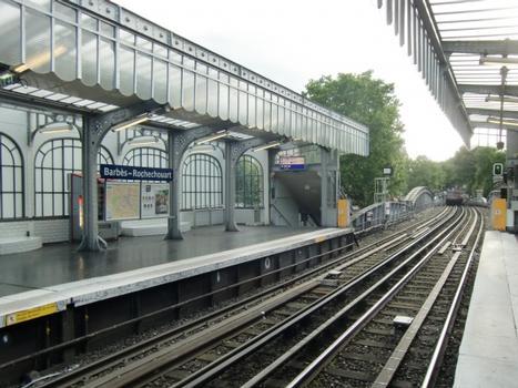 Barbès - Rochechouart Metro Station (Line 2)