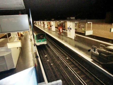 Station de métro Gallieni
