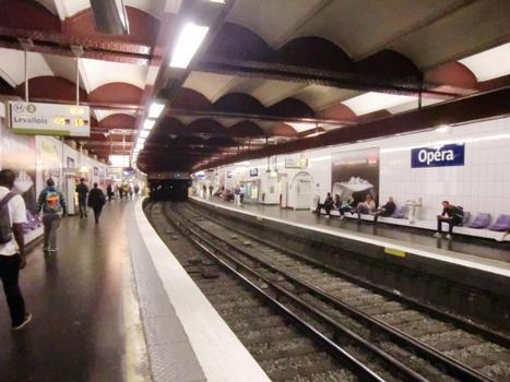 Station de métro Opéra
