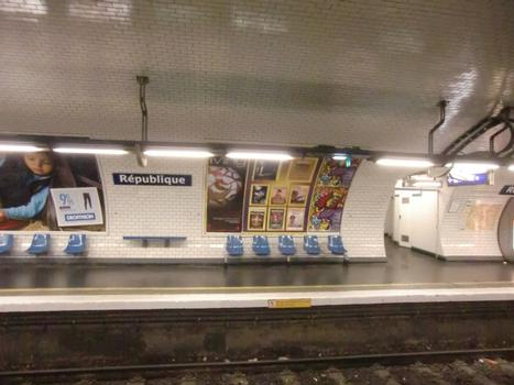 Station de métro République