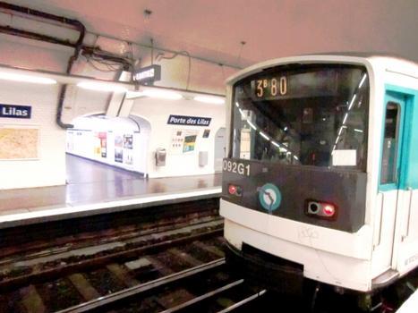 Porte des Lilas Metro Station