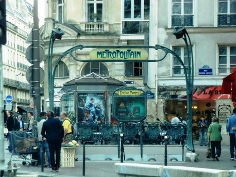 Metrobahnhof Étienne Marcel