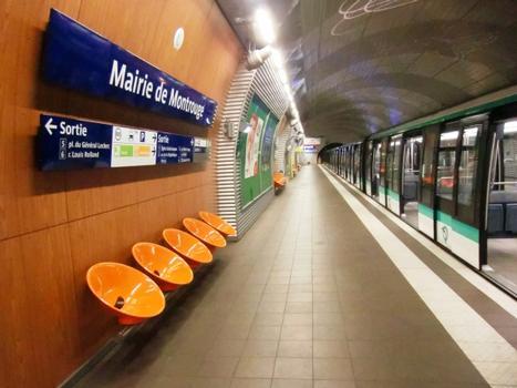 Gare de métro Mairie de Montrouge