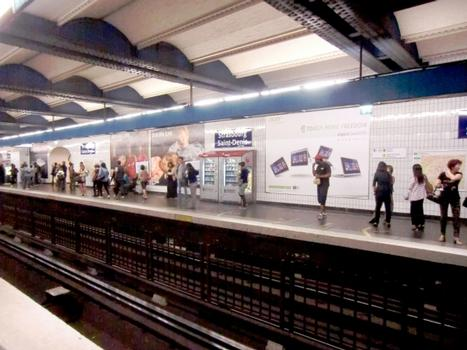 Station de métro Strasbourg - Saint-Denis