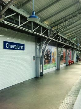 Chevaleret Metro Station