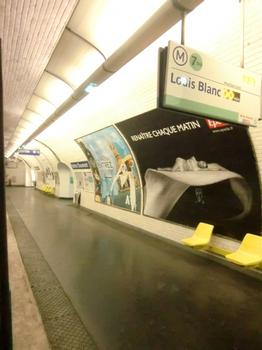 Buttes Chaumont Metro Station