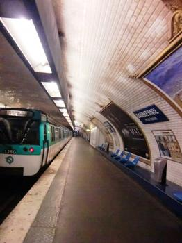 Station de métro Daumesnil