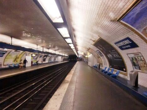 Daumesnil Metro Station, line 8 platform