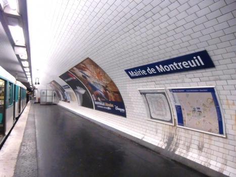 Metrobahnhof Mairie de Montreuil