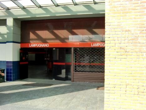 Lampugnano Metro Station, access