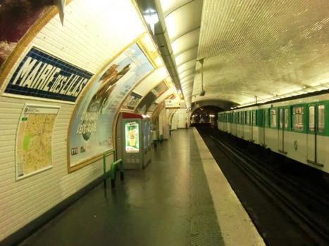 Station de métro Mairie des Lilas