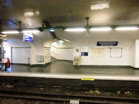 Montparnasse - Bienvenüe Metro Station, line 12 platform