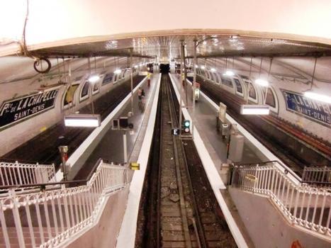 Porte de la Chapelle Metro Station