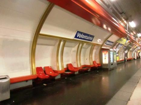 Volontaires Metro Station