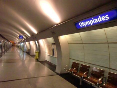 Station de métro Olympiades
