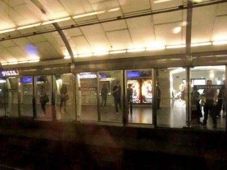 Saint-Lazare Metro Station (Line 14)