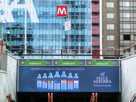 Garibaldi FS Metro Station access