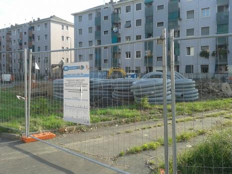 Gelsomini Metro Station site