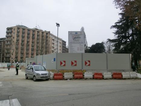 Susa Metro Station site