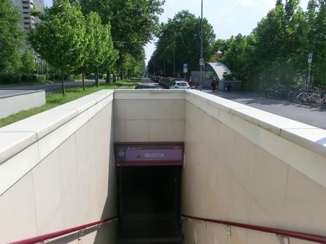 Bicocca Metro Station access