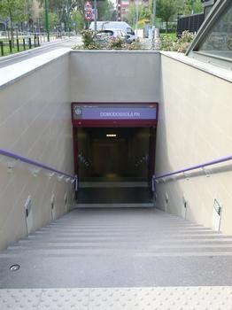 Domodossola FN Line 5 Metro station - access
