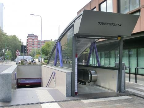 Station de métro Domodossola