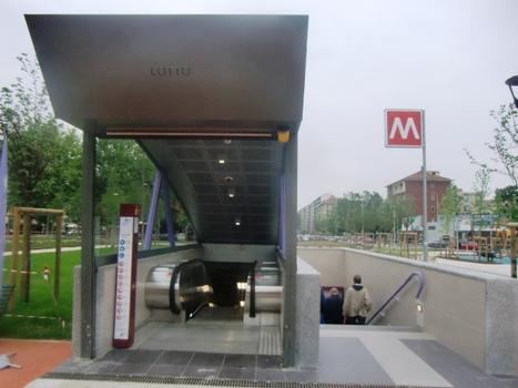 Lotto Metro Station, line 5 access
