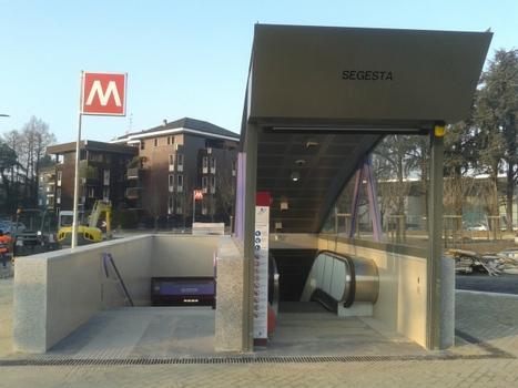 Metrobahnhof Segesta