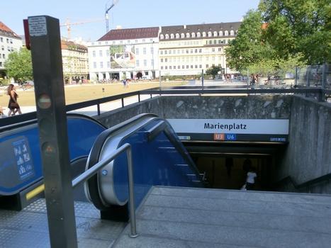 Station de métro Marienplatz