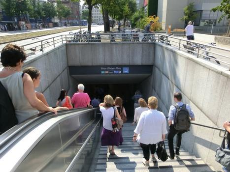 Station de métro Max-Weber-Platz