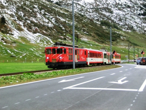 Furka Oberalp Railway at Andermatt